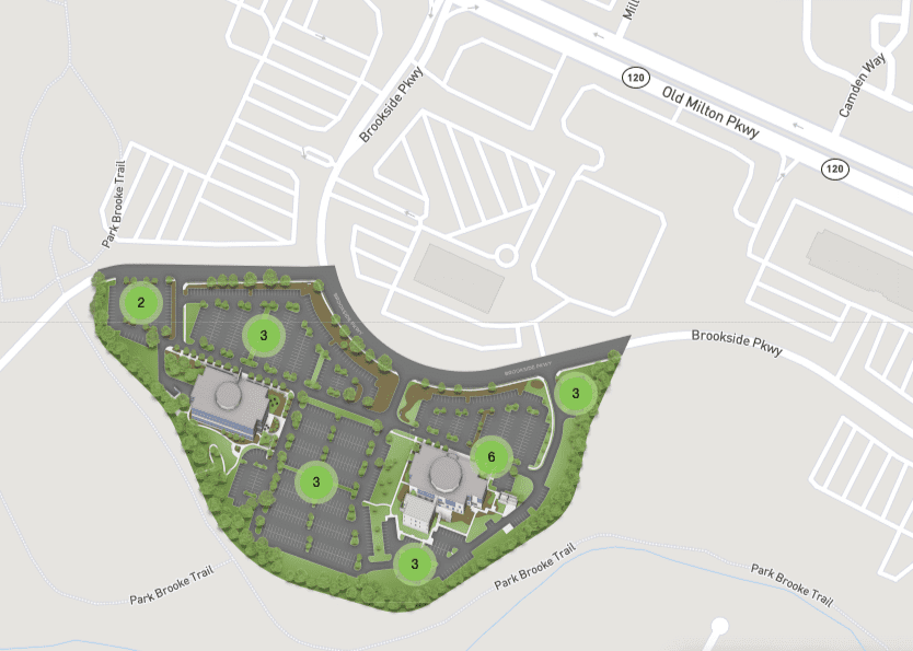 Alpharetta Campus Parking Map